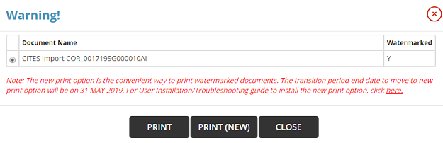 Print Certificate with Watermark - Liferay